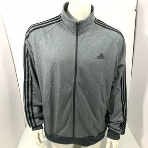 Adidas Men's Gray Size XL Track Jacket